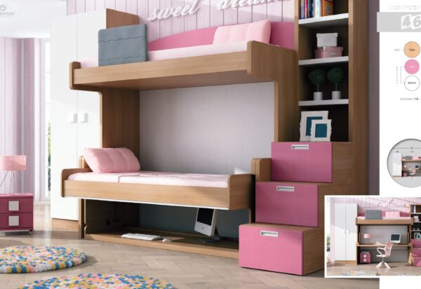 dormitorio juvenil composición-45