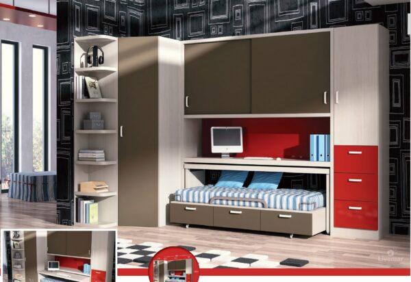 dormitorio juvenil composición-58