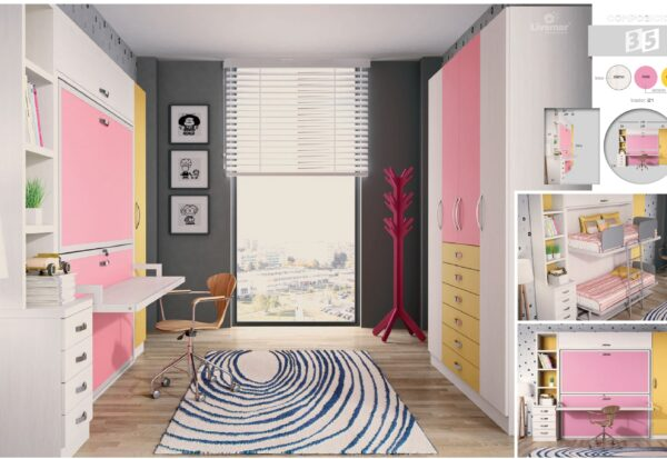 dormitorio juvenil composición-34