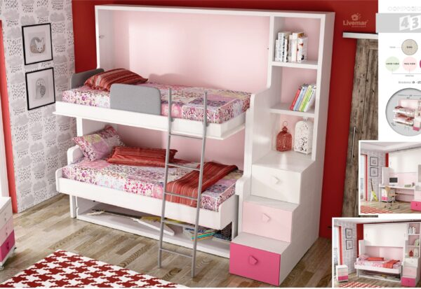 dormitorio juvenil composición-42