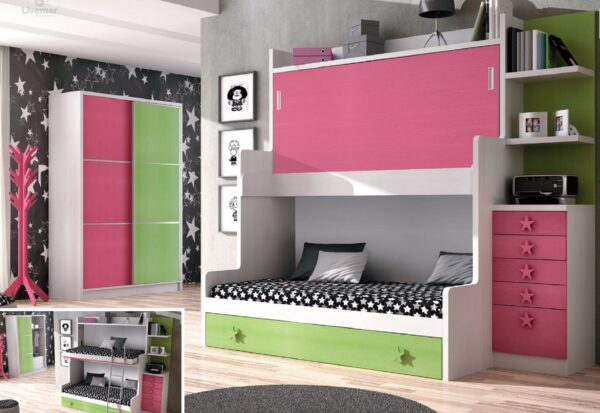 dormitorio juvenil composición-50
