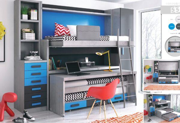 dormitorio juvenil composición-54